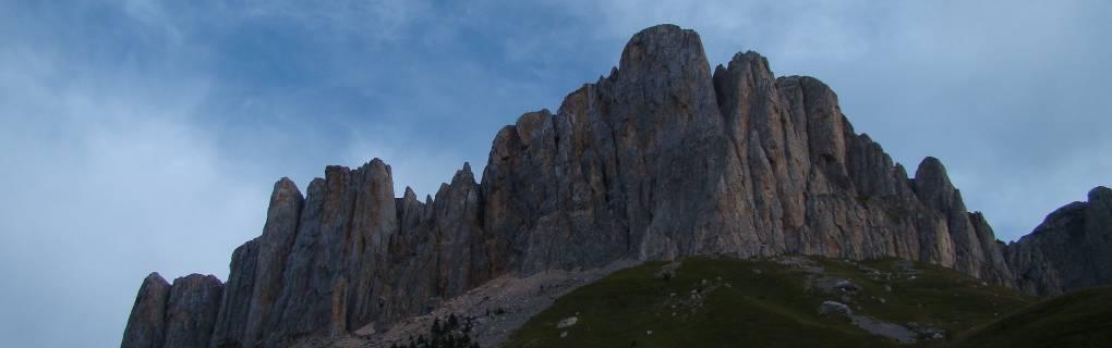 г. Тхач - перспективный район для новых скальных восхождений