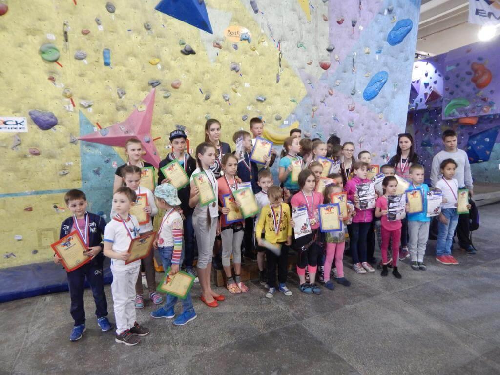 Итоги Открытых соревнований по скалолазанию на призы клуба «Стремление»