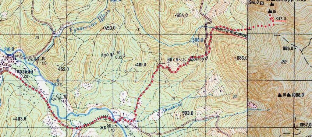 Перспективные скальные районы Кубани: Массив Сур-Кар